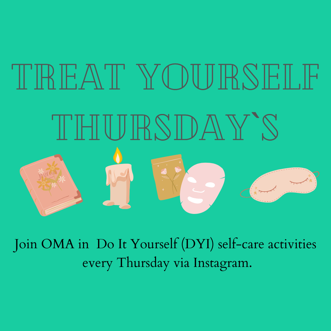 Colorful Treat Yourself Thursdays Graphic